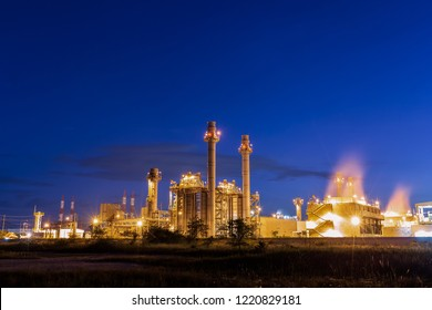 Natural gas combine electric power plant