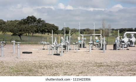 Natural gas facilities. Photo from 2008.