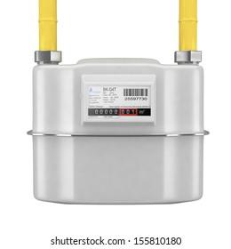 Natural gas meter.