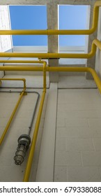 Natural gas pipes and equipment