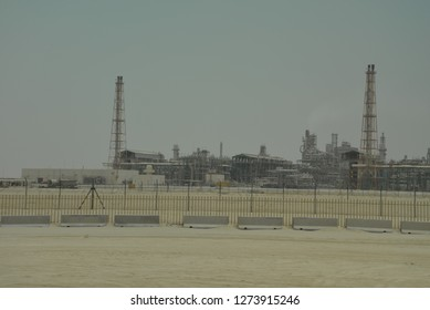 Natural Gas Processing Plant and Oil Refinery, Qatar, Middle East