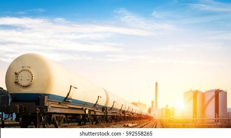 Erdgastransport auf der Schiene