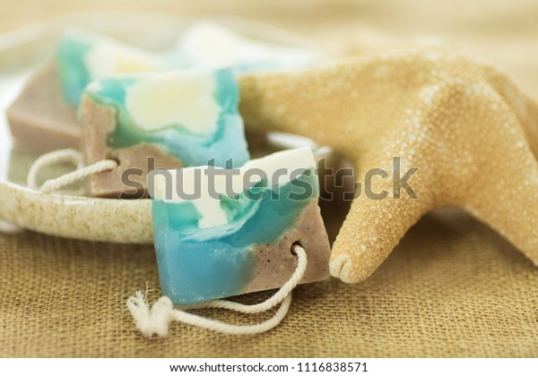 Natural Glycerin Handmade Soap Ocean Stock Photo (Edit Now) 1116838571