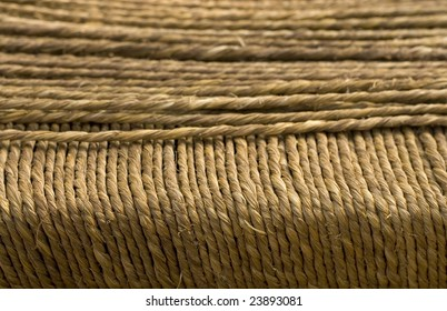 natural grass rope with banner space