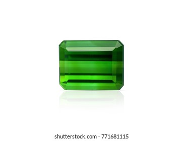 Natural Green Tourmaline gemstone