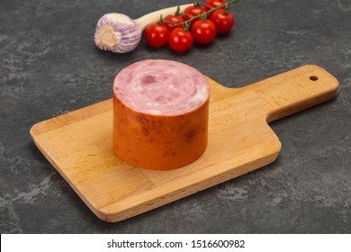 Natural ham made from pork meat