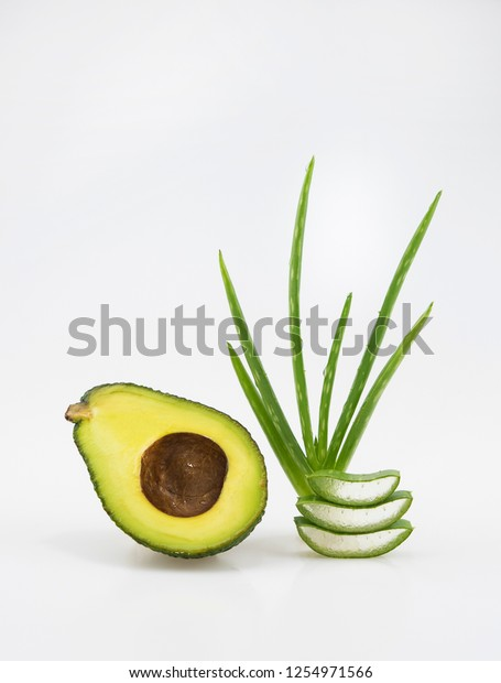 Natural Herbal Skin Care Productss Ingredients Stock Photo (Edit Now