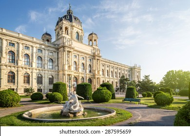 The Natural History Museum in Vienna, Wien, Austria