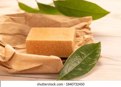 natural Homemade bay laurel natural soap