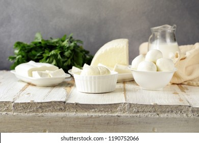 natural homemade milk soft cheese