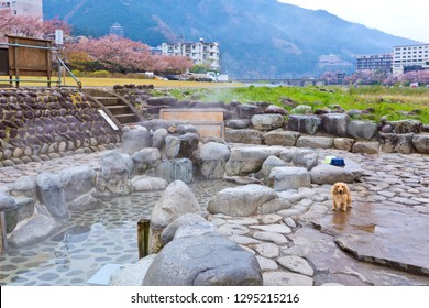Natural hot spring onsen in Gero onsen town, Gero onsen is a small town by the crystal clear Hida River in a dramatic mountainous setting in Gifu Prefecture.