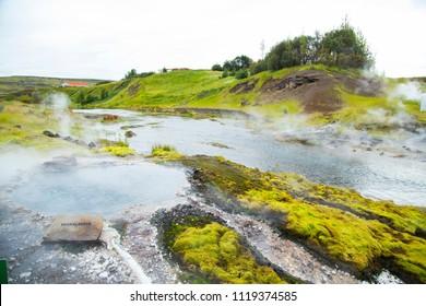 "Natural hot spring ""SECRET LAGOON"""