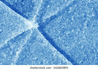 natural ice background closeup, abstract pattern