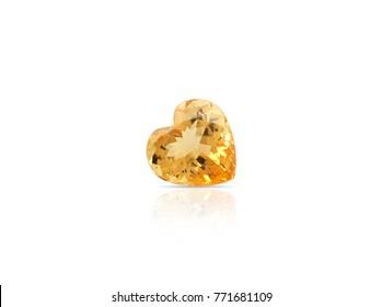 Natural Imperial Topaz gemstone