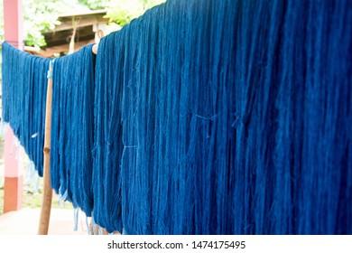 Indigo Dye Thailand Images, Stock Photos & Vectors
