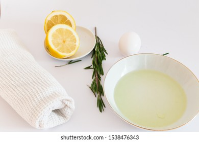 Natural ingredients for skin care. Natural house masks. Healthy way of skin care.