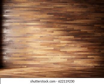 natural interior with wood wall panels & Natural Interior Wood Wall Panels Stock Photo (Edit Now) 622119224 ...