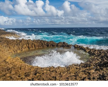 The Natural Jacuzzi   Views around the small Caribbean island of Curacao