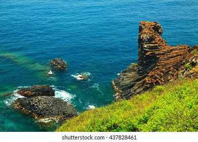 Natural landmark of Penghu in Taiwan
