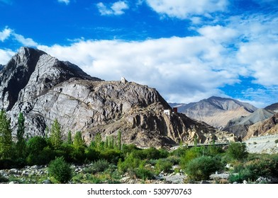 Natural landscape in Nubra valley, Leh Ladakh, Jammu and Kashmir, India