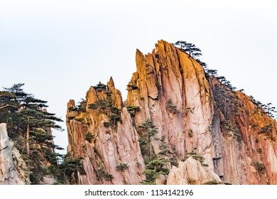 Natural landscape of Xihai Grand Canyon in Huangshan Scenic Area, Huangshan City, Anhui Province
