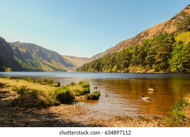 Natural landscapes at Glendalough, Co. Wicklow, Ireland