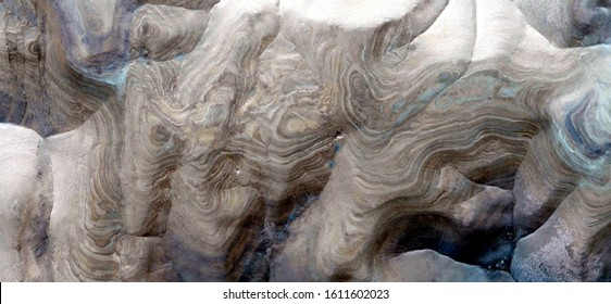 natural level curves, abstract photography of the deserts of Africa from the air. aerial view of desert landscapes, Genre: Abstract Naturalism, from the abstract to the figurative, contemporary