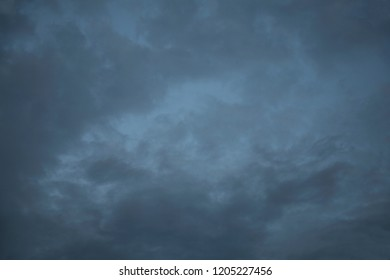 Natural light colored clouds and sky. Beautiful background of air space in the blue sky. The best image of heaven in the autumn clouds of natural background.