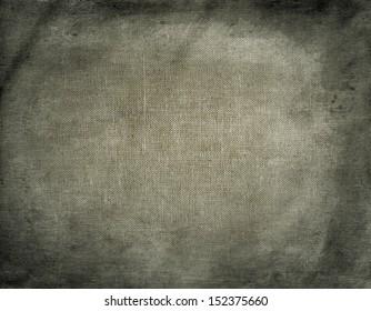 Natural linen dirty grunge textured sacking burlap vintage background