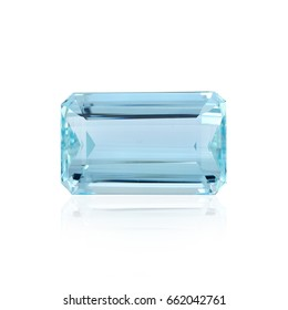 Natural Loose Aquamarine Gemstone