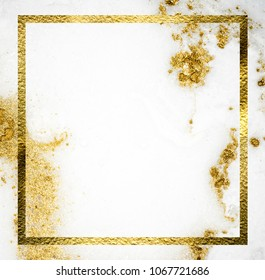 Natural luxury. Rich background. Pastel trendy paint colors. Ancient oriental drawing technique.Very beautiful art with golden powder
