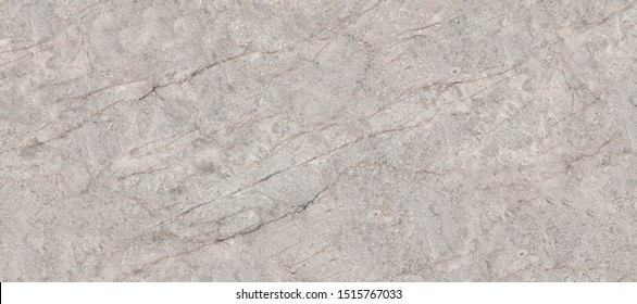 Natural marble stone texture background with grey curly veins, Beige colored marble for interior-exterior home decoration and ceramic tile surface, Quality stone texture with deep veins.