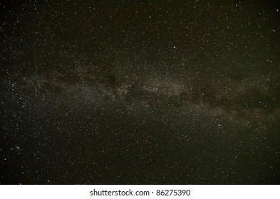 Natural Milky Way Galaxy