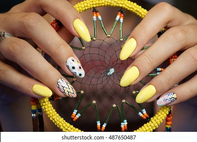 Natural nails. Beautiful nail art for you. Hand care and manicure for all nail lovers!