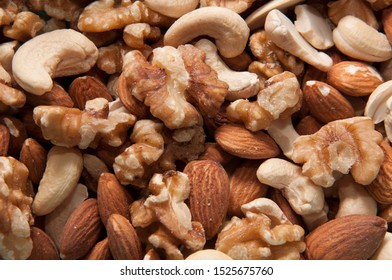 Natural nuts vitamin and nutrients.