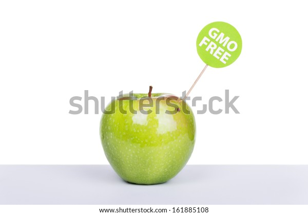 Natural organic green apple without gmo