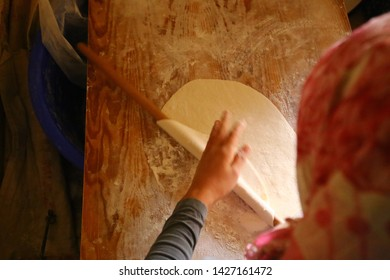 natural organic homemade yufka bread
