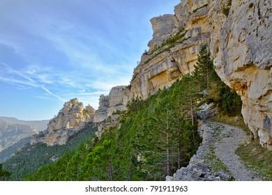 "Natural Park of the ""Tinenca de Benifassa"" in the region of ""Els Ports"". Valencian Community. Spain"