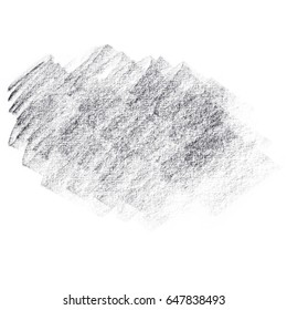 Natural pencil texture, white background.