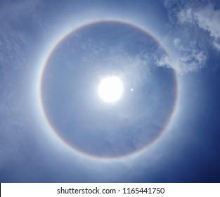 Natural phenomenon Sun halo