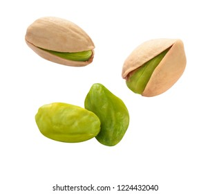 Natural pistacchios with shells