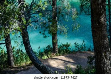 Natural Place of the Desfiladero de los Gaitanes, Ardales, Guadalteba, Malaga, Andalusia, Spain, Iberian Peninsula