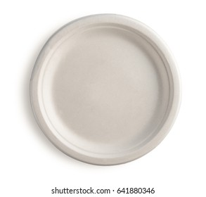Natural plant fiber food plate isolated on white backgroundpaper plate  sc 1 st  Shutterstock & Disposable Plates Images Stock Photos u0026 Vectors | Shutterstock
