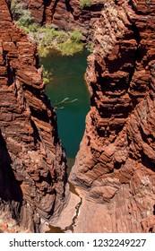 Natural Pool in Karijini, Western Australia