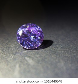 Natural purple Sapphire gemstone, Purple amethyst gemstone jewelry