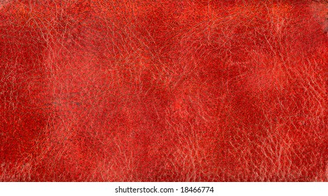 Natural qualitative leather texture. Close up.