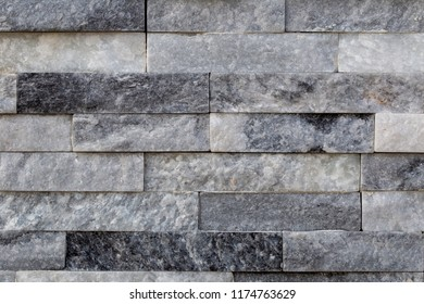 Natural quartzite stone bricks texture for design backgrounds and covers