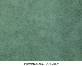 Natural, real green suede texture