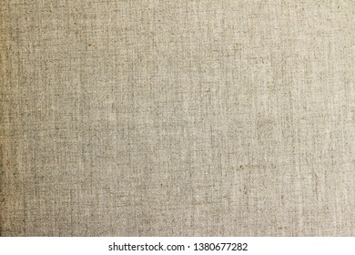 Natural realistic backdrop, material and artwork concept - Linen canvas texture background