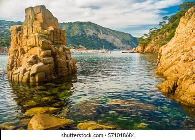 Natural Reserve of Illes Medes near L'Estartit (Spain)
